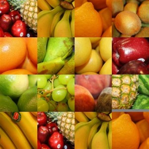 Obst-Puzzle