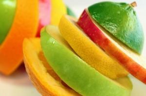 Obst in Scheiben