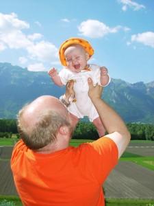 Vater mit Kind
