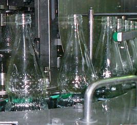 Mineralwasserabfüllung