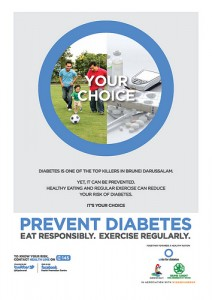 Plakat Diabetes Prävention