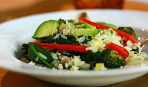 Reis-Gemüse-Gericht