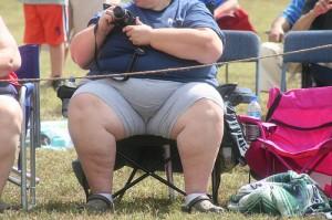 fettsüchtiger Mensch