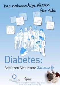 Plakat Weltdiabetestag 2012