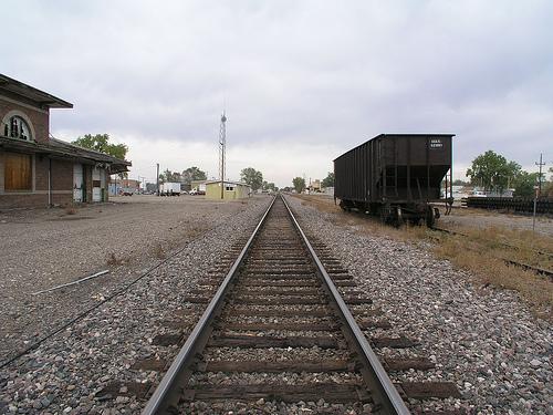 Miles City Bahnhof
