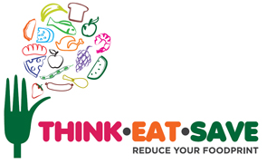 "Logo ""think.eat.save"""