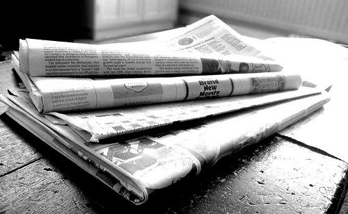 Zeitung NS Newsflash