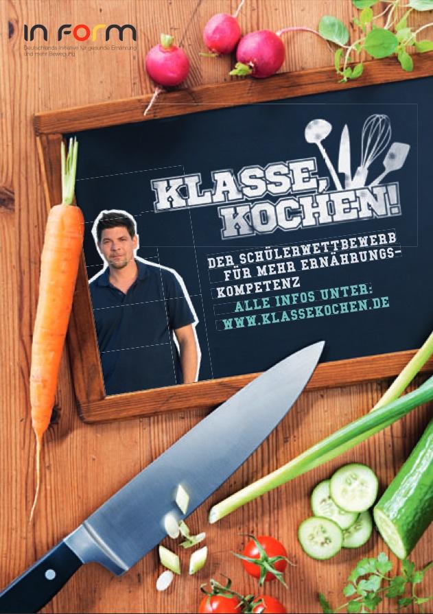 Klasse Kochen Plakat