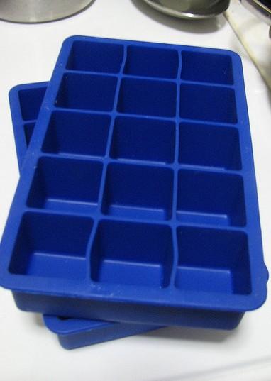 Eiswürfelform aus Silikon