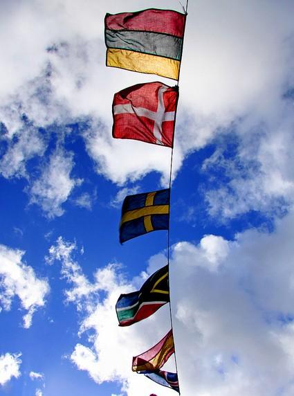 Flaggen aus Europa