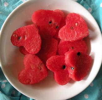Melonenherzen