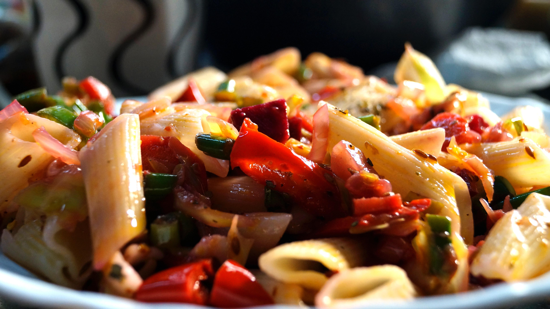 Bild von Pasta-mit-Gemüse