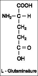 StrukturformelL-Glutaminsäure