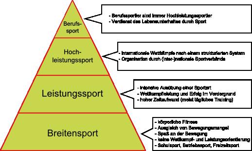 Ebenen des Sports